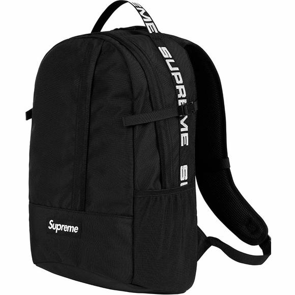 32fc164a5a4d Black Supreme SS18 Backpack